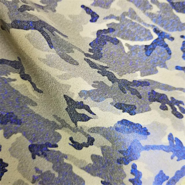 Camouflage Leather